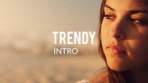 Trendy Intro Premiere Proテンプレート