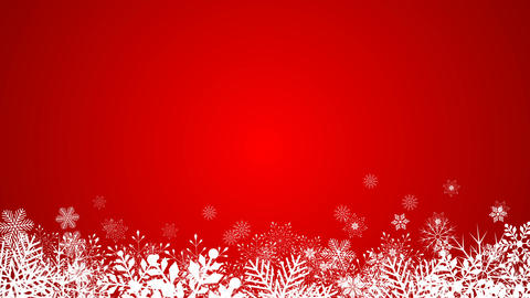beautifull snowflakes at color background Animation