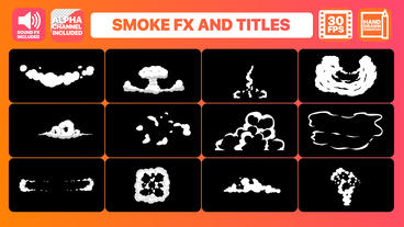 Hand Drawn Smoke FX Premiere Pro Template