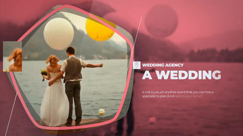 Wedding Agency Promo After Effects Template