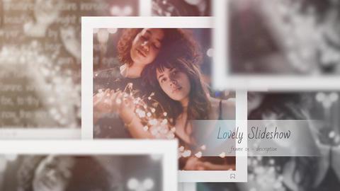 Lovely Slideshow - Square Instagram Premiere Pro Template