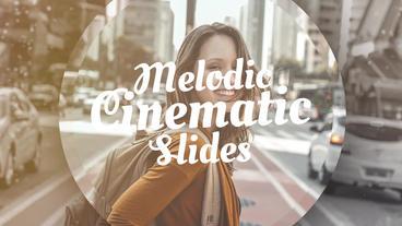Melodic Cinematic Slides Premiere Pro Template