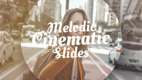 Melodic Cinematic Slides Premiere Pro Template