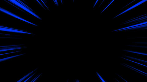 Concentrated line loop - Blue (with alpha) Animation