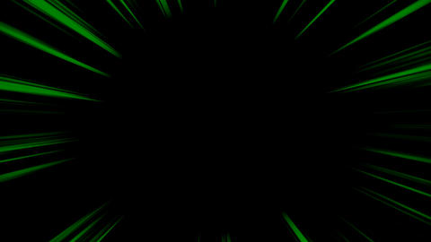 Concentrated line loop - Green (with alpha) Animation
