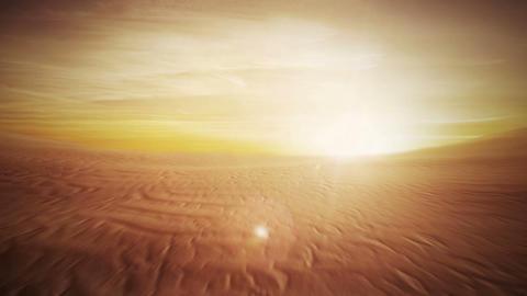 Desert Flight Animación