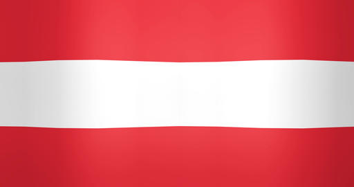 Waving Flag of Austria Looping Background Footage