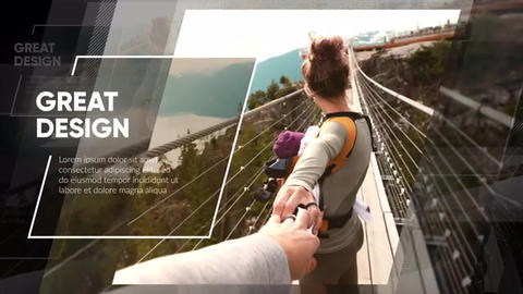 Slideshow - Clean Modern After Effects Template