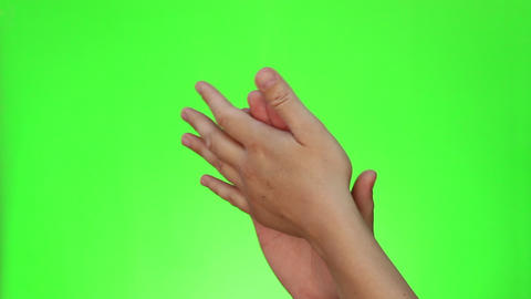 Hands Applausing Footage