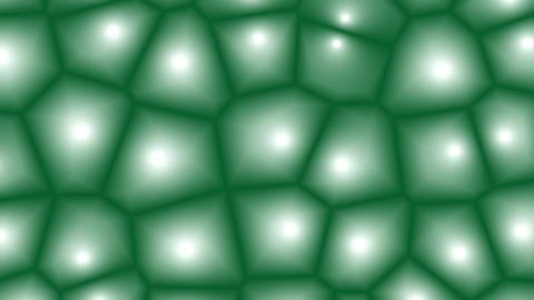 Animated fantasy mosaic cells with different beautiful…, Stock Animation