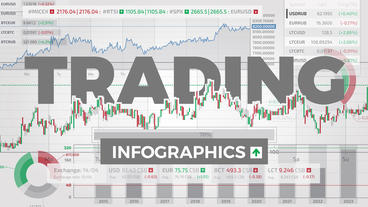 Trading Infographics After Effects Template