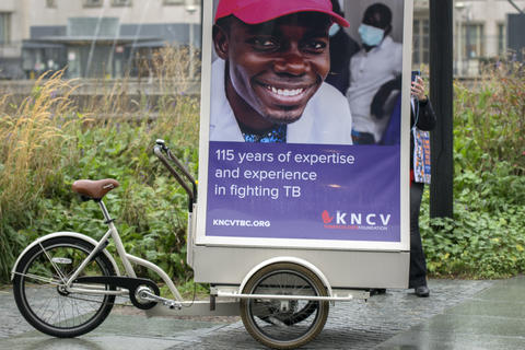 Driving Billboard From The KNCV Foundation At Den Haag The Netherlands 2018 フォト
