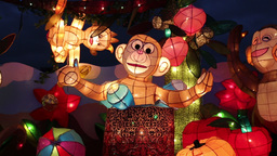 Taipei Lantern Festival 2016 影片素材