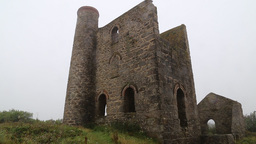 Cornish Tin Mine Cornwall Footage
