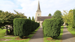 St Nicholas Church Chislehurst Kent UK Footage