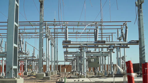 Electrical Substation Construction Long Footage