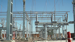 Electrical Substation Construction Long Pan Footage