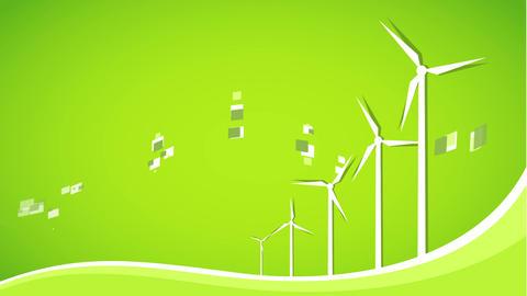 Wind landscape Animation