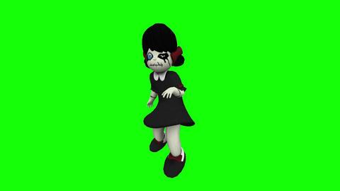 Horror Doll HD Animation