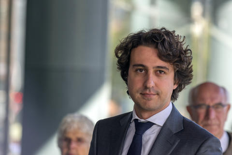 Jesse Klaver At The Memorial Ceremony At The Concertgebouw At Amsterdam Photo