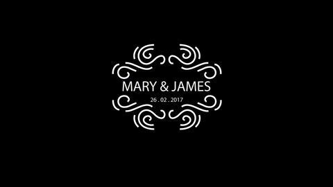 10 Wedding Titles Vintage Badges V16 After Effectsテンプレート
