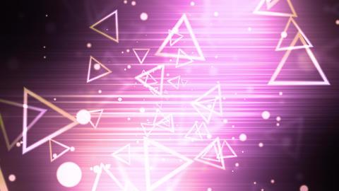 Abstract Retro Triangles Animation