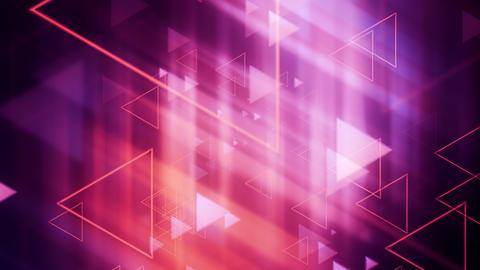 Soft Light Triangle Shapes Animation