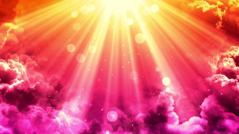 Glorious Warm Heaven Rays GIF