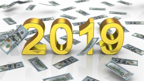 New Year 2019 Videos animados