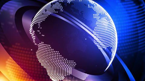 High Impact World News Animation