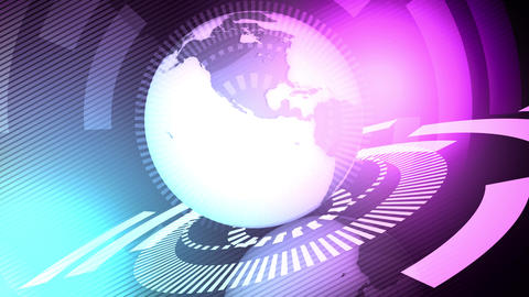 Television Global News Stock Video Footage