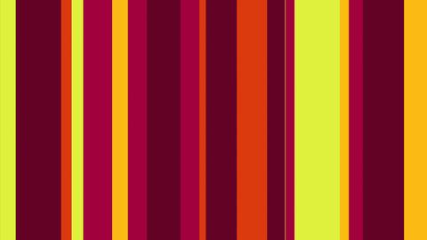 Multicolor Stripes 01 - 4k Vibrant Striped Pattern Video… Stock Video Footage