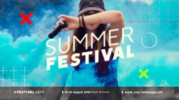 Festival Opener After Effects Template