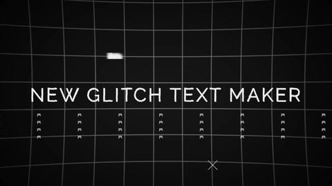 Glitch Maker (Toolkit) (CS5 5) After Effectsテンプレート