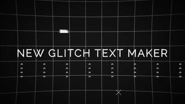 Glitch Maker (Toolkit) モーショングラフィックステンプレート