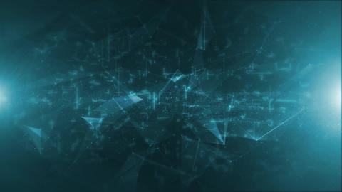Abstract High Tech Background Animation