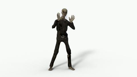 zombie moves, transparent background Live Action