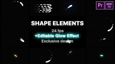 Cartoon Liquid Shapes Motion Graphics Template