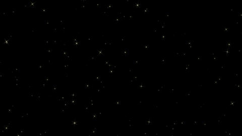 [alt video] Twinkle star background - loop (with alpha)