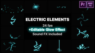 Electric Elements Motion Graphics Template