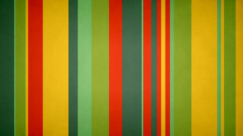 Paperlike Multicolor Stripes 05 - Grungy Lively Colors Bars Video Background Animation