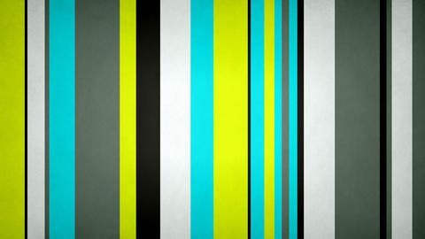 Paperlike Multicolor Stripes 07 - 4k Texturized Neon Contrast Bars Video Animation