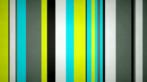 Paperlike Multicolor Stripes 07 - Texturized Neon Contrast Bars Video Background Animation