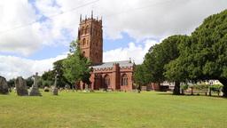 St Marys Church Bishops Lydeard Somerset UK Footage