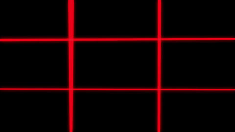 Abstract Grid Wireframe Background Loop Animation