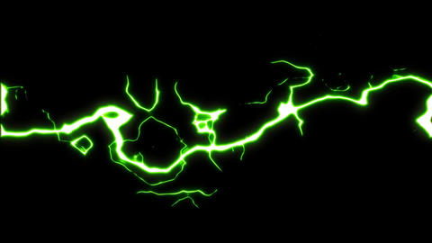 4k Dynamic Action Power Electricity Fx Animation