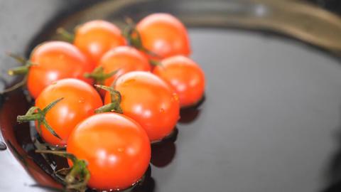 Tomatoes Rotating On White Background Auto, Stock Animation
