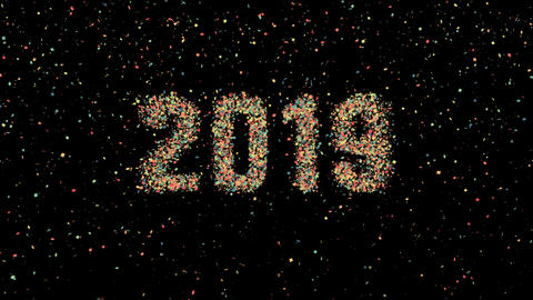 New Year 2019 animation 0098 Animation