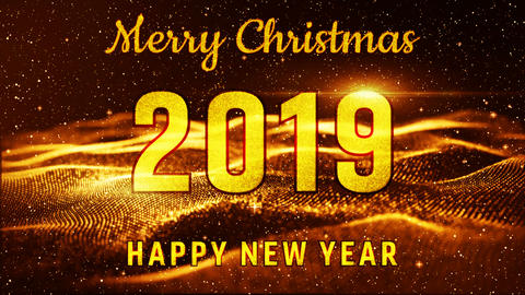 New Year 2019 animation 0102 Animation