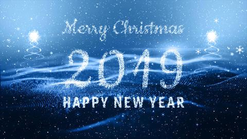 Happy new year Background 0103 CG動画素材